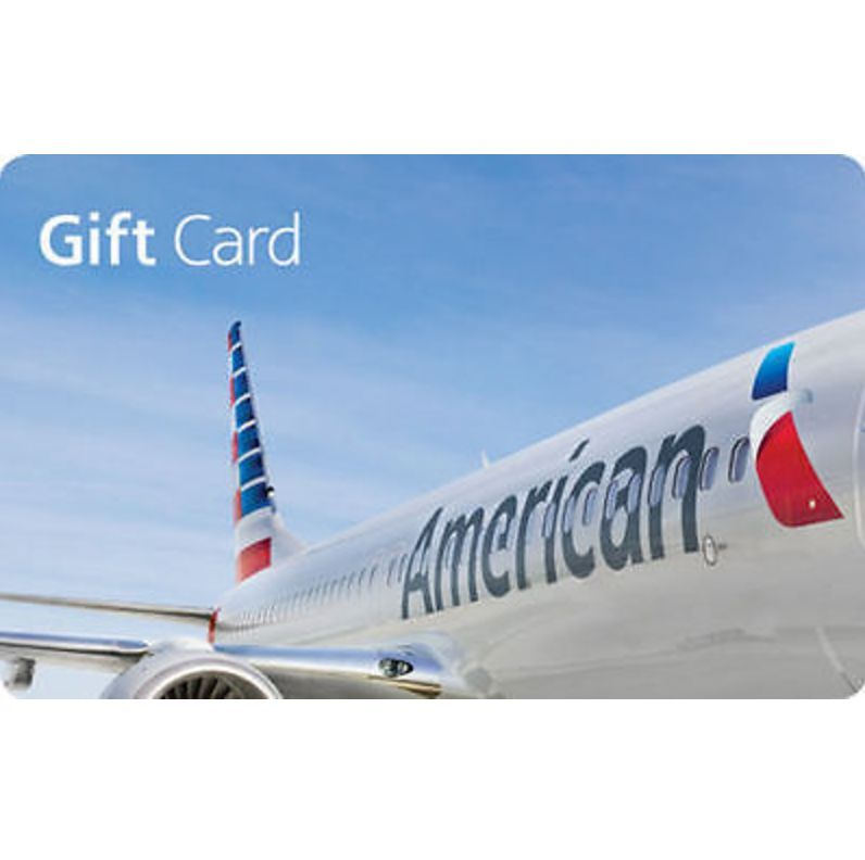 American Airlines Gift Card - $100 or $250 - Fast Email delivery