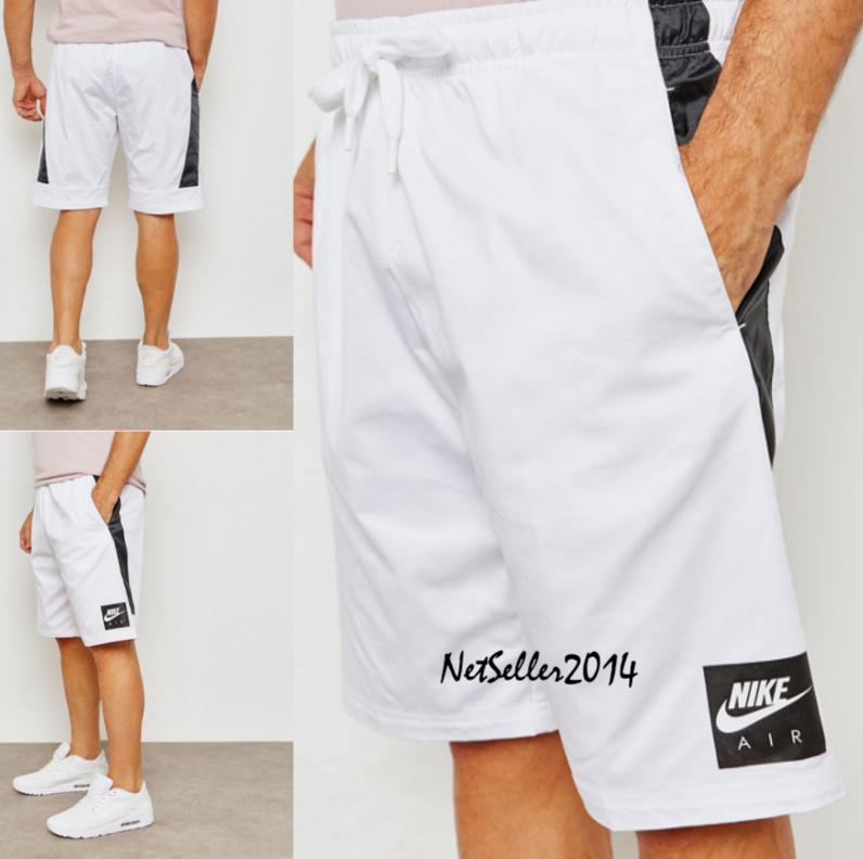 SZ XL 🆕 RARE Nike Sportswear Men's Air White Knee Gym Len