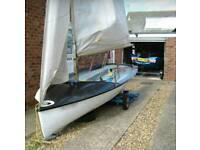 Lark sailing dinghy
