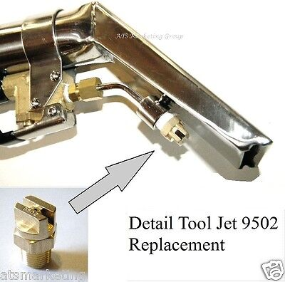 Carpet Cleaning - Detail Upholstery Tools 9502 Jet Replacement