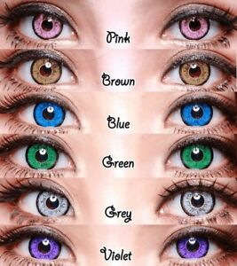Dolly Eye Halloween Contact Lenses