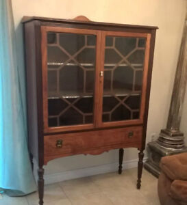 Beautiful Large Antique Armoire Cabinet I DELIVER