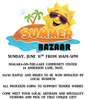 Charity Bazaar for Tender Wishes