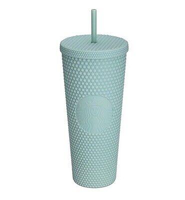 Starbucks Korea 2021 Mint Studded Cold Cup Tumbler 710ml Limited + DHL
