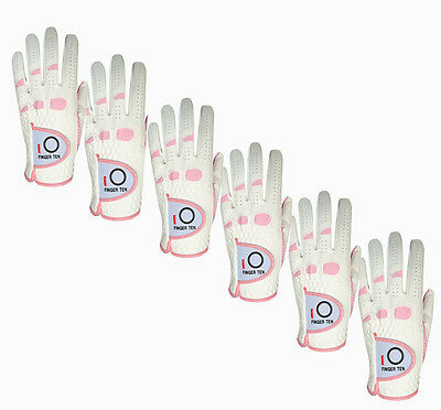 Women Golf Gloves Value 6 Pack Left Hand Right Medium Small Fit Better Grip (Best Value Golf Grips)