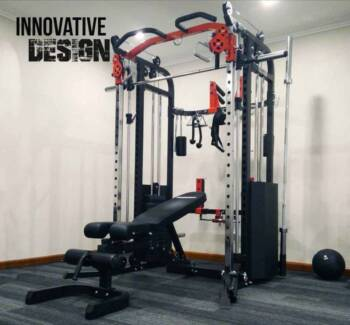 Brand New Functional Trainer F40 with Weight Stacks, All in One