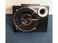 Vibe subwoofer and amp