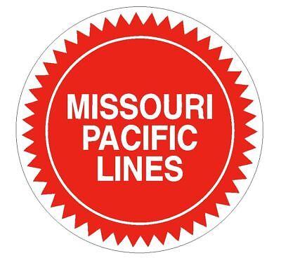 Missouri Pacific Lines Railroad Sticker R5258 Railway Train YOU CHOOSE (Missouri Pacific Lines Railroad)