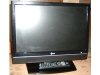 "19"" LG freeview TV"
