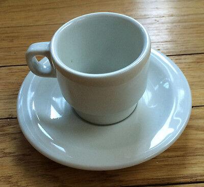 Espresso Demitasse Cup - Richard Ginori - Italy - Italian - White