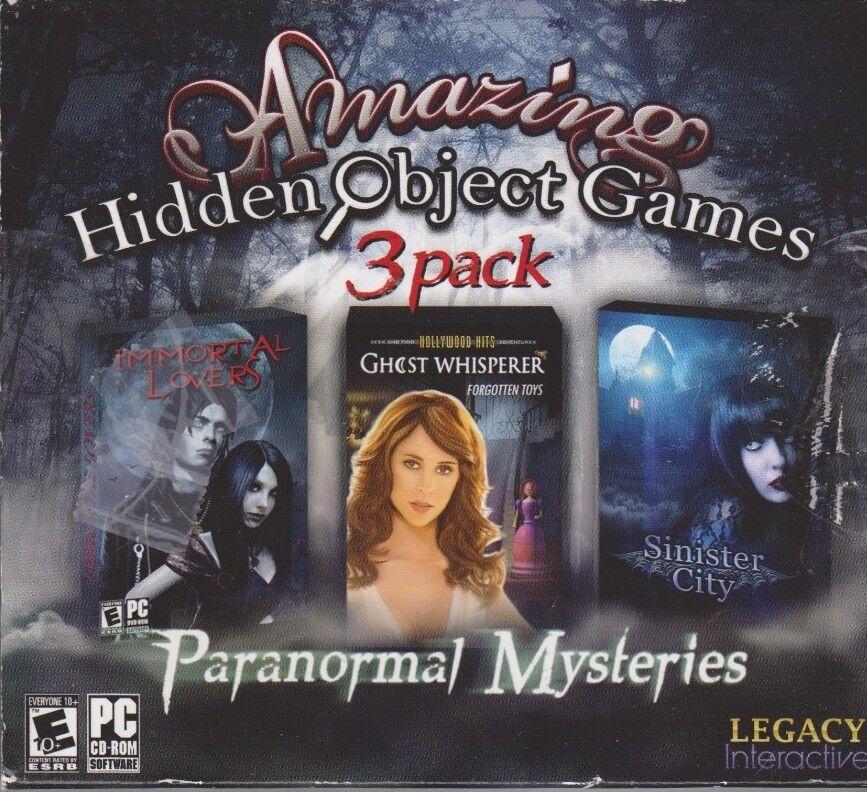 Computer Games - Amazing Hidden Object Games 3 Pack PC Games Windows 10 8 7 XP Computer seek find