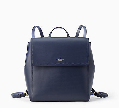 Kate Spade New York Backpack Blue Somerville Road Megyn NEW $379