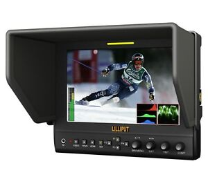 Lilliput-7-663-O-P2-IPS-Peaking-Focus-HDMI-In-Out-waveform-F970-for-BlackMagic