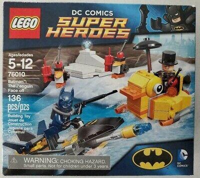 LEGO SET 76010 DC COMICS SUPER HEROES BATMAN THE PENGUIN FACE OFF 100% COMPLETE
