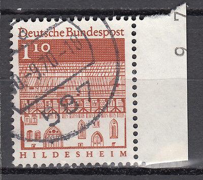 BRD 1966 Mi. Nr. 501 Gestempelt mit Rand LUXUS!!! (21546)