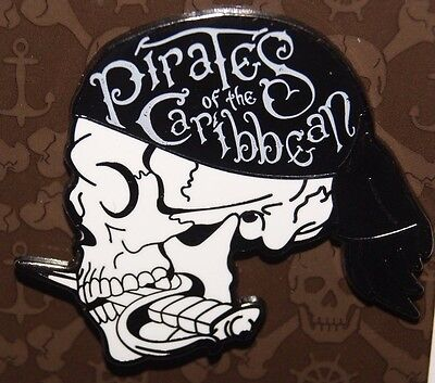 Disney 2017 Pirates of the Caribbean Dead Men Tell No Tales Skull Profile Pin
