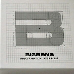BIGBANG Autographed 5.5 Album Still Alive CD+YG card Special Edition new Korea