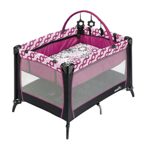 Evenflo Playpen with Bassinet