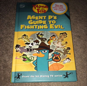 Phineas and Ferb: Agent P's Guide to Fighting Evil HC Book