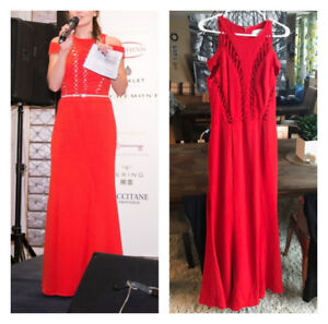 3 Gorgeous floor length gowns - each worn once