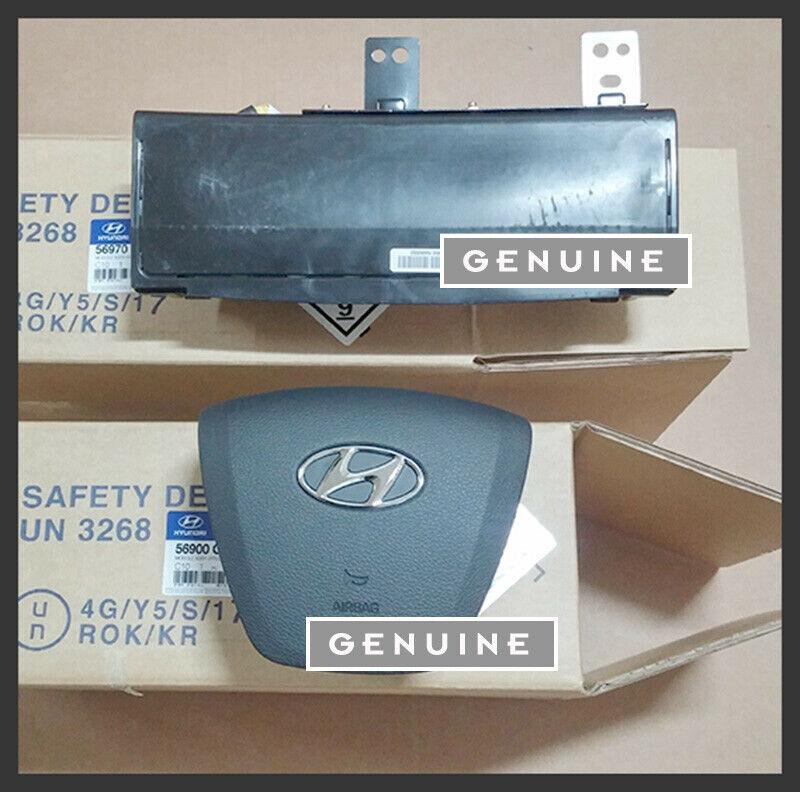 56900 C1500TRY 56970 C1000 Steering Wheel Knee 2p for 2015 2017 Hyundai Sonata