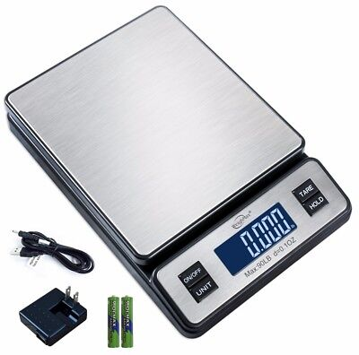 Weighmax W-2809 90 Lb X 0.1 Oz Digital Shipping Postal Scale Wac Adapter