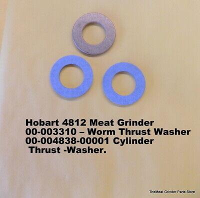 Hobart 4812 Meat Grinder 00-003310 Worm Washer 00-004838-00001 Bronze Washer