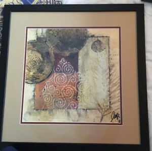 Abstract Framed Picture