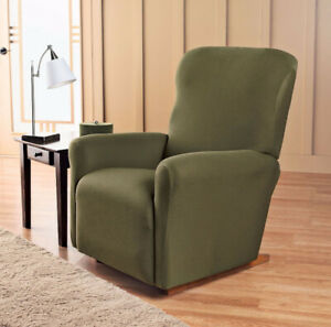 Jersey Recliner Slipcover Forest, New