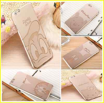 Best Ultra Thin Golden Cartoon Cover Quality Case for iPhone  5 /
