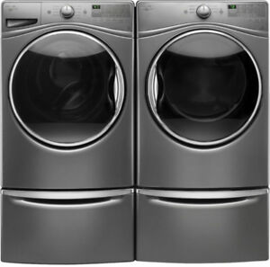 Whirlpool WFW85HEFC Front Load Washer and DrayerYWED87HEFC Pair