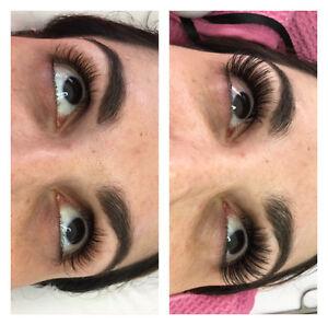 Eyelash extensions,eyelash/eyebrow tinting,keratin lift,Swarovsk West Island Greater Montréal image 4