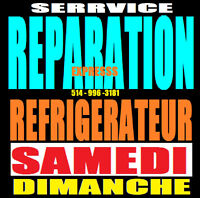 REPARATION REFRIGERATEUR - 514 9963181 - APPLIANCE FRIDGE REPAIR