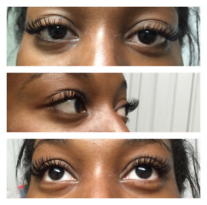 Promotions:all types Eyelash extensions,keratin lift West Island Greater Montréal image 5