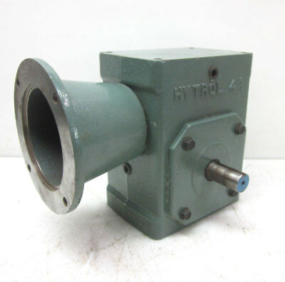 Hytrol 4a 201 Gearbox Worm Gear Speed Reducer C-face