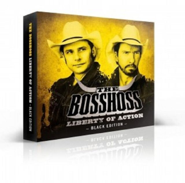 THE BOSSHOSS - LIBERTY OF ACTION (BLACK EDITION)  CD + DVD  COUNTRY ROCK NEU