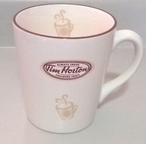 2007 Tim Hortons Coffee Cup Mug Collectible Limited Edition