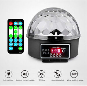Crystal Magic Ball Led Stage Disco Laser DMX Lumiere