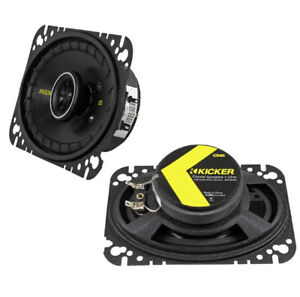 "Kicker CS464  4x6"" Coaxial 150 Watt Full Range -New in box"
