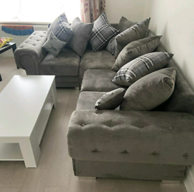 4 Seater Verona Corner Sofa With Scatter Back Cushions Left or Right