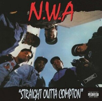 N.W.A. - STRAIGHT OUTTA COMPTON (LIMITED 25TH ANNIVERSARY EDITION) VINYL LP NEU