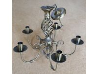 Assorted Wall lights and chandeliers