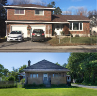 = = =►► TWO Homes on ONE Lot - Live In and/or Rent Out