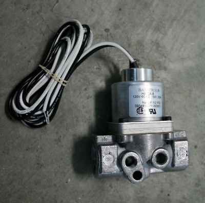 Middleby Conveyor Pizza Oven Solenoid Gas Valve Part 28091-0017