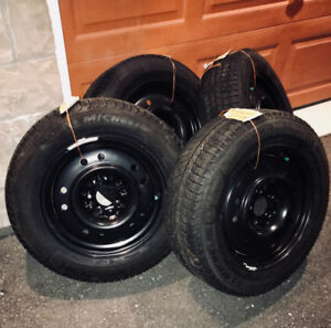 2017 Snow Tires and Rims