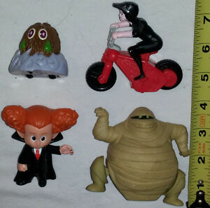 Qty 3 x Set of 4 Hotel Transylvania Toys