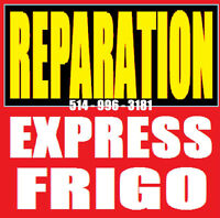 REPARATION REFRIGERATEURS 514 9963181 APPLIANCE FRIDGE REPAIR