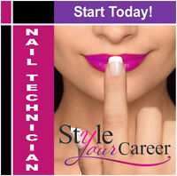 Private One On One Tutored Accredited Nail Tech Course!