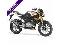 2017 RIEJU RS3 125CC LC NAKED BRAND NEW! ORANGE***POUND;200.00 SAVING***