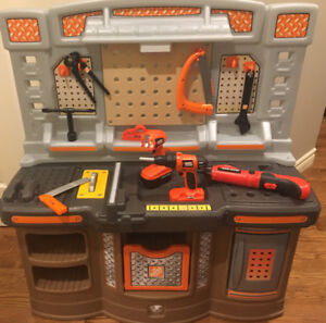 Home Depot Workbench for Kids Used